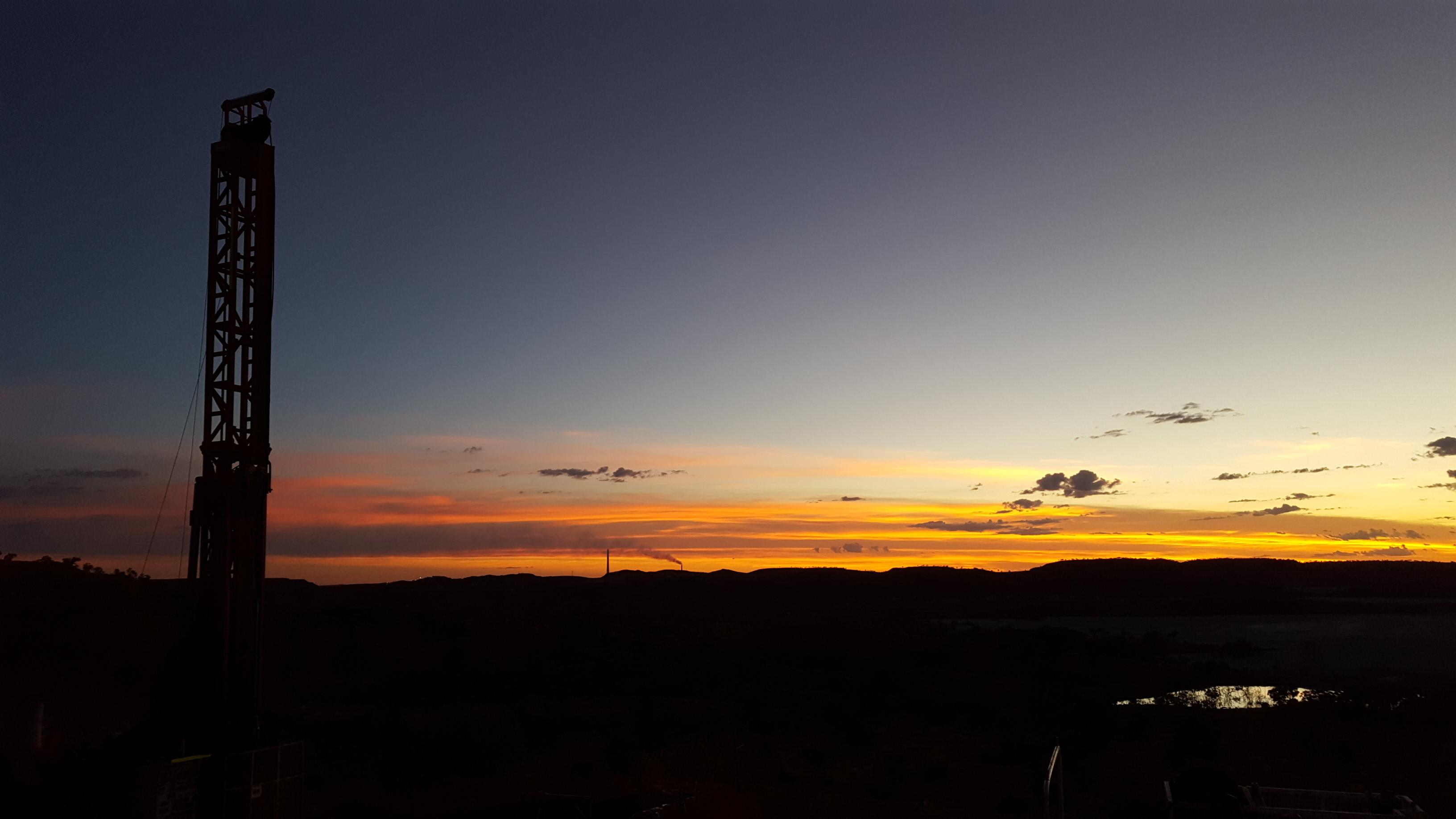 Mount Isa sunset